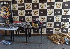Trio que vendia drogas para universitários na fronteira é preso pela Defron em Ponta Porã