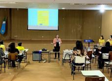 Participaram cerca de 40 professores e servidores da educação; Foto: Divulgação/Assecom