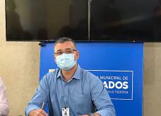 Secretário-adjunto de Saúde, Edvan Marcelo; Foto: Luiz Guilherme/Ligado Na Notícia