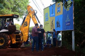 Trecho não é o mesmo do problema anterior, que deixou o local interditado há dois anos; Foto: Divulgação/Assecom
