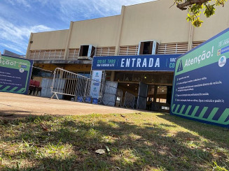 Número é o maior já registrado no Drive do Pavilhão de Eventos Dom Teodardo Leitz; Foto: Divulgação/Assecom